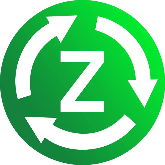 Zöld marketing logó