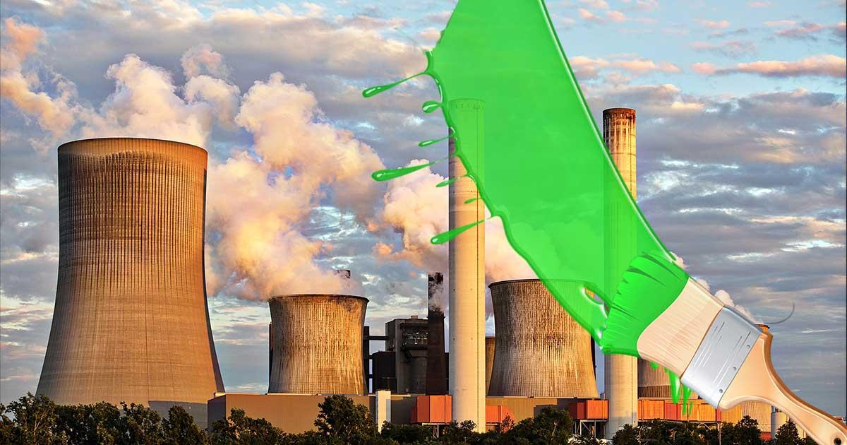 Zöldre mosás
