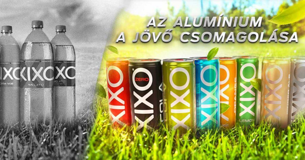 XIXO alumínium csomagolás